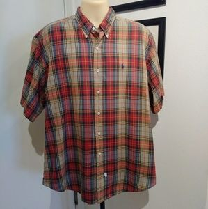 Polo Ralph Lauren Plaid Oxford